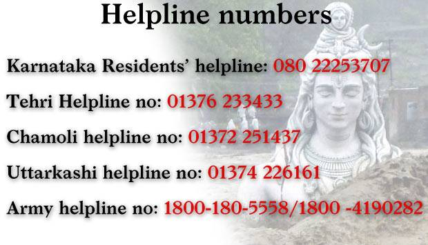 Some Emergency Numbers for Flood Relief